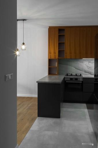 Mieszkanie – kompleksowy projekt wnętrza, Rzeszów