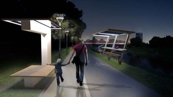 Ławki Smart City