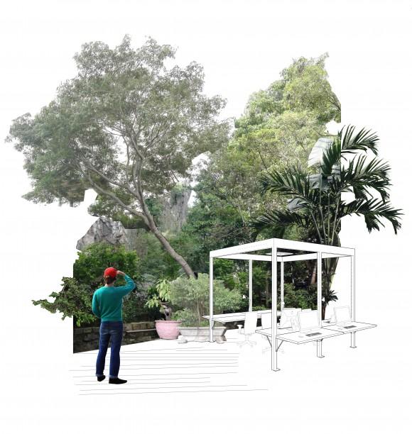 """Przestrzeń Coworkingu jako """"Ogród miejski"""", Konkurs"""